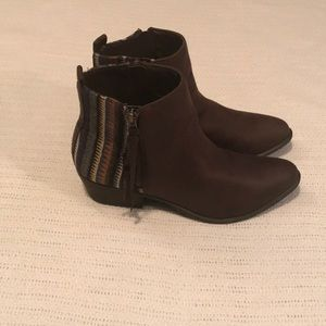 Madden Girl Brown Booties